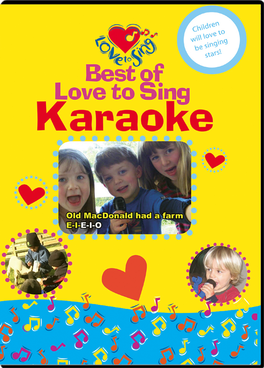 Best of Love to Sing Karaoke DVD