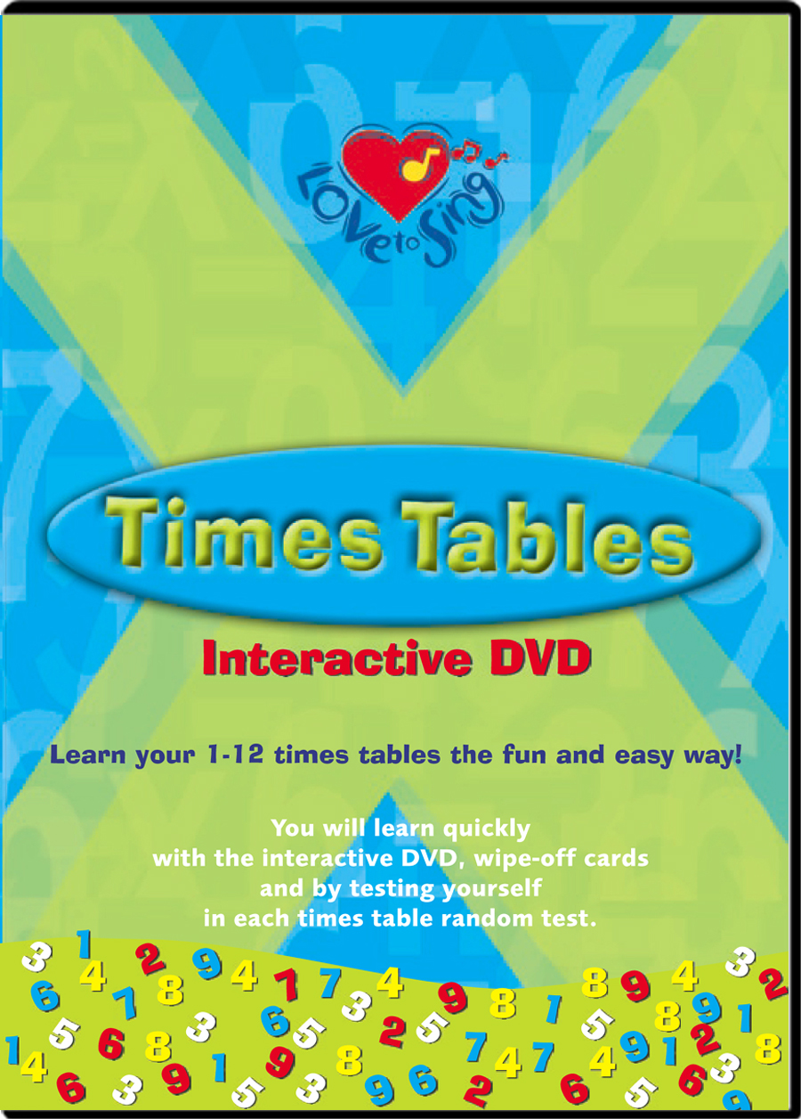 Times Tables DVD