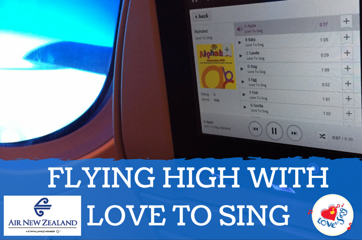 Flying High With Love to Sing