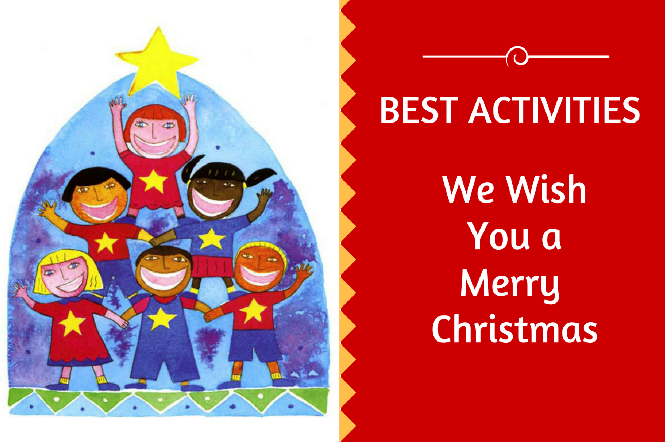 We Wish You A Merry Christmas Activity Love To Sing